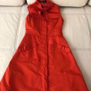 Orange Derek Lam dress